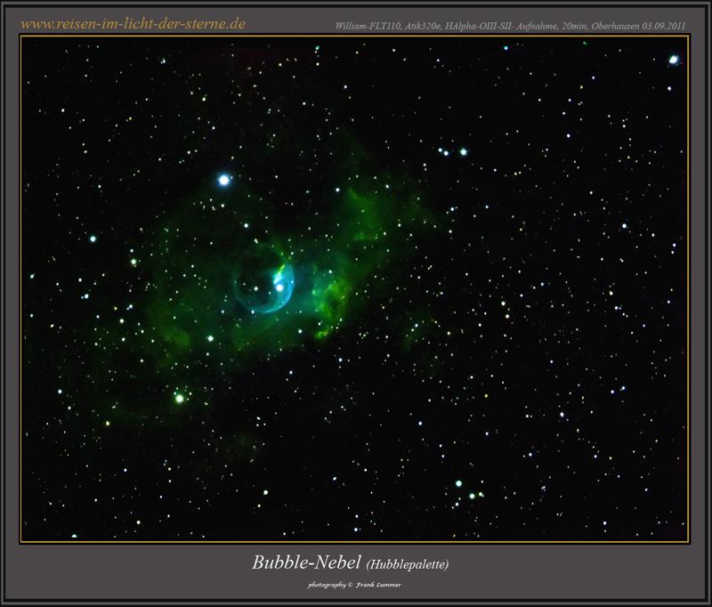 Bubblenebel Hubblepalette