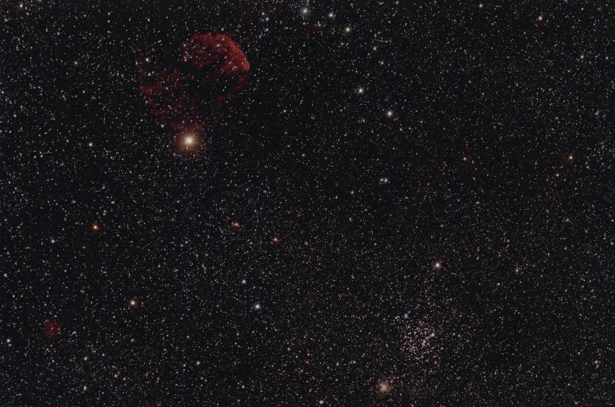 M35, NGC 2158, IC443