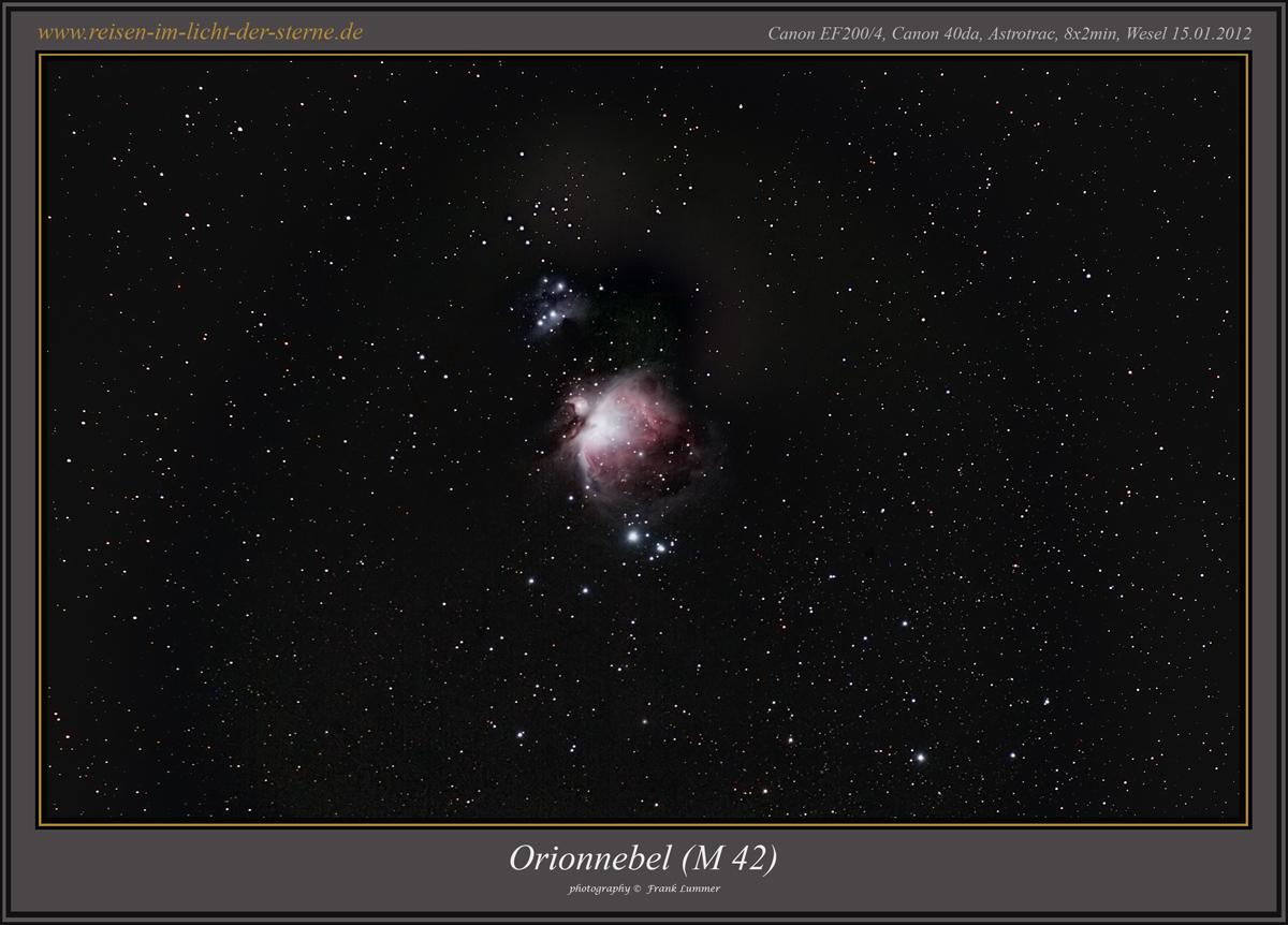 M42 mit der Astrotrac