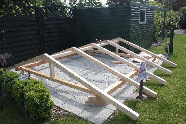 Relativ Gartenhaus bauen,welche Balkenstärke benötige ich? | wer-weiss-was.de AJ54