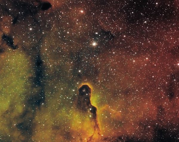 IC1396 Ergebnis