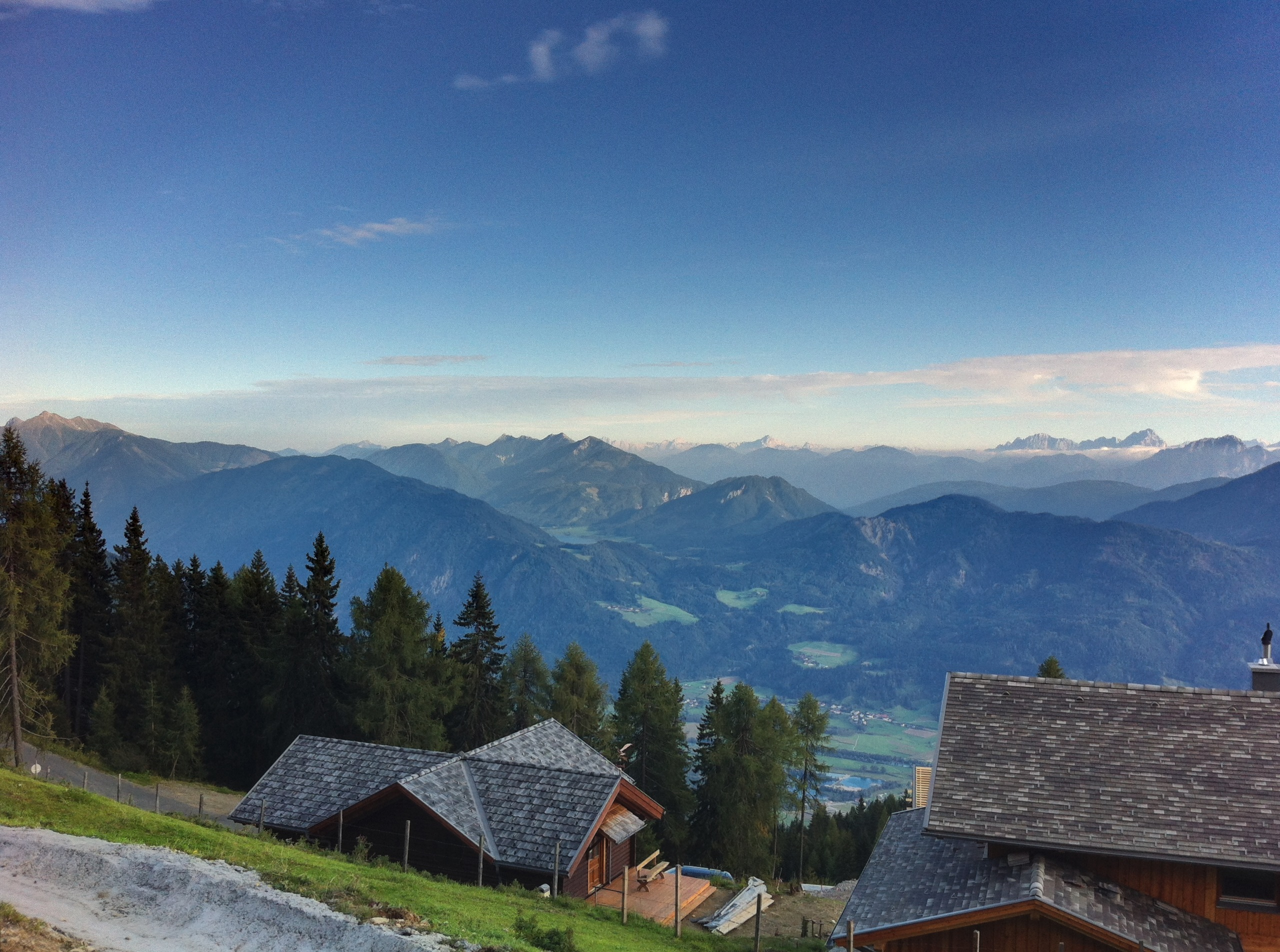 Ankunft Emberger Alm